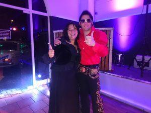 Katharina with Tom alias Elvis