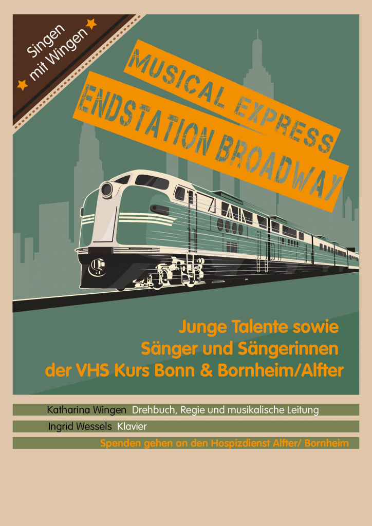 "flyer ""Musical Express"" Vorderseite"